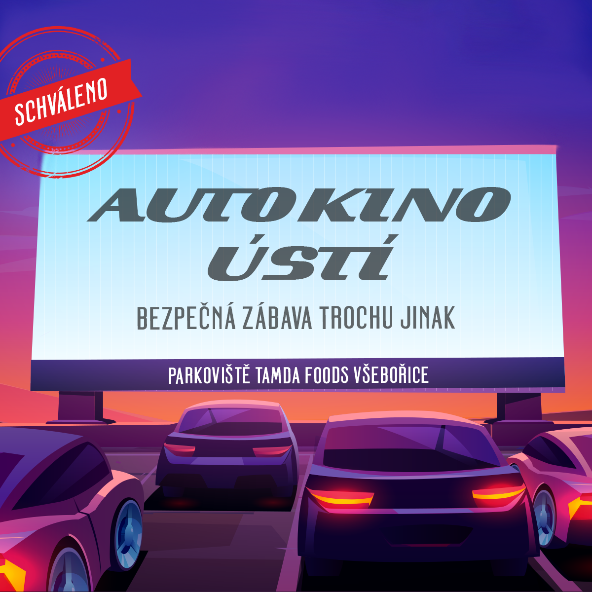 Autokino - Ústí nad Labem - Kolej jinak