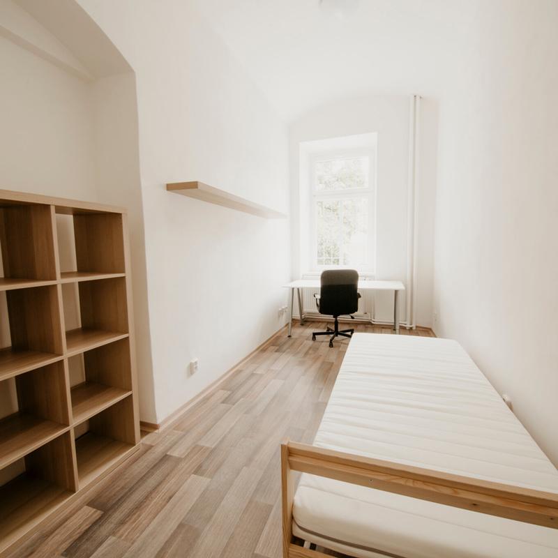Jednolůžkový pokoj - Apartmán č.2 - Kolej Jinak