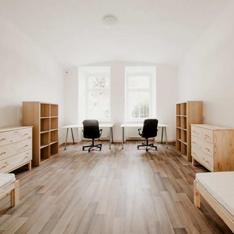 Dvoulůžkový pokoj - Apartmán č.2 - Kolej Jinak