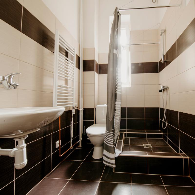 Koupelna - Apartmán č.2 - Kolej Jinak
