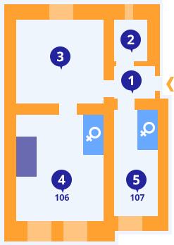 Apartmán č.2 - Kolej Jinak