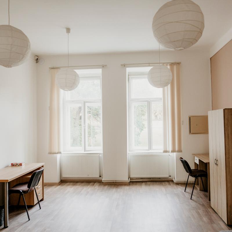 Dvoulůžkový pokoj - Apartmán č.3 - Kolej Jinak