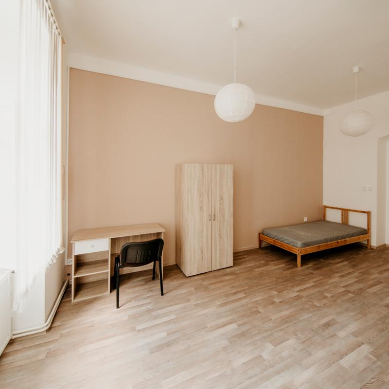 Jednolůžkový pokoj - Apartmán č.1 - Kolej Jinak