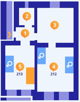 Apartmán č.3 - Kolej Jinak