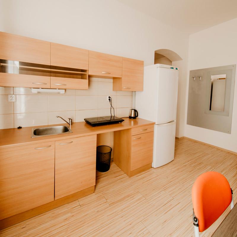 Kuchyň - Apartmán č.4 - Kolej Jinak