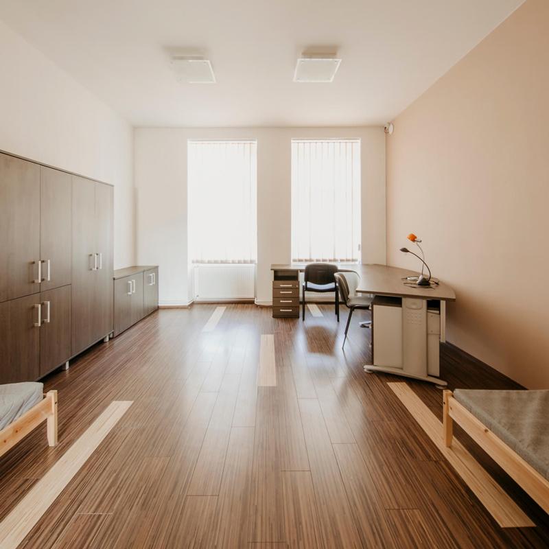 Dvojlůžkový pokoj - Apartmán č.4 - Kolej Jinak