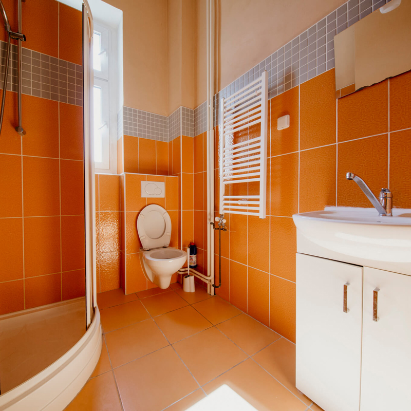 Koupelna - Apartmán č.4 - Kolej Jinak