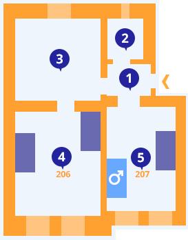 Apartmán č.4 - Kolej Jinak