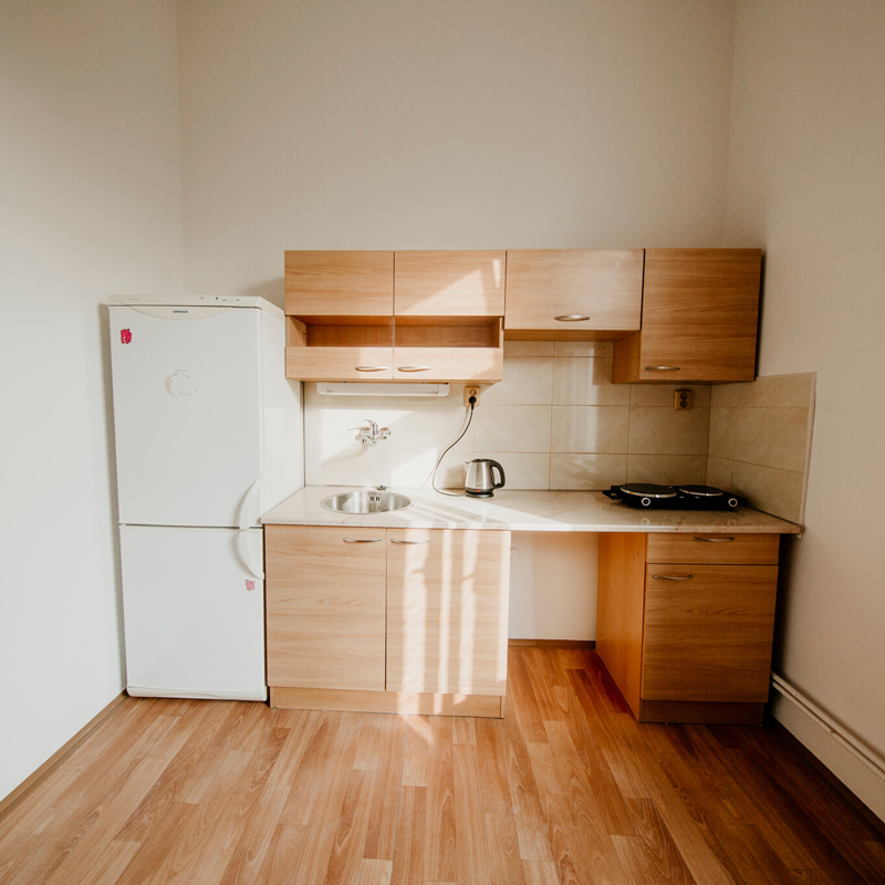 Kuchyň - Apartmán č.5 - Kolej Jinak
