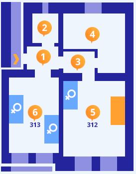 Apartmán č.5 - Kolej Jinak
