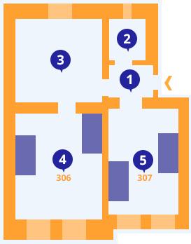 Apartmán č.6 - Kolej Jinak